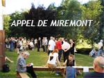 Appel de Miremont